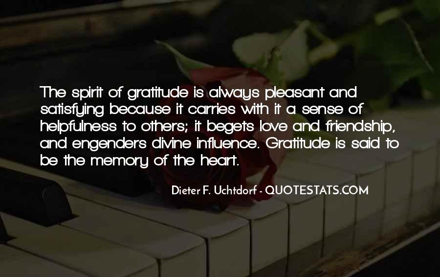 In Memory Of Friendship Quotes #495312