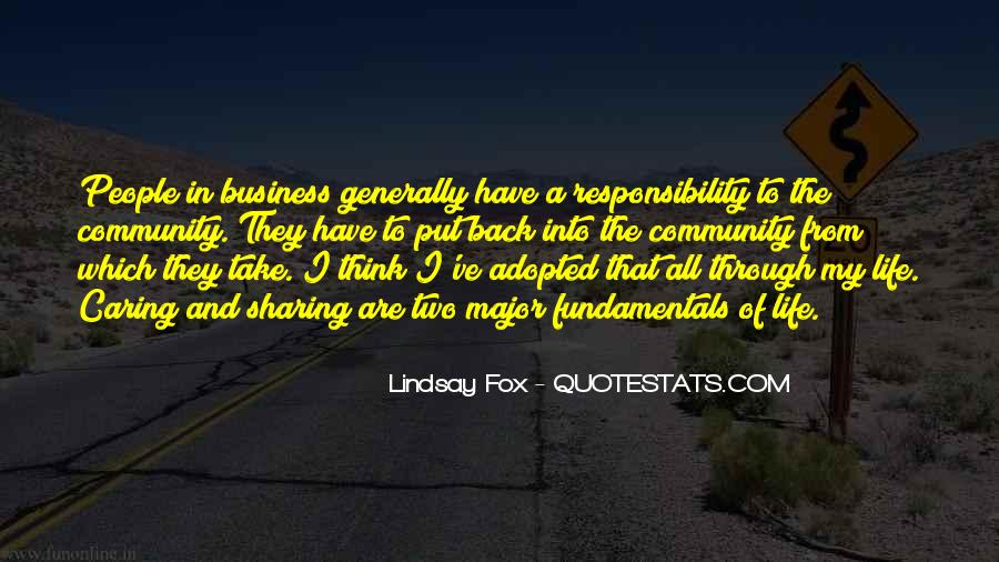 In My Business Quotes #100124
