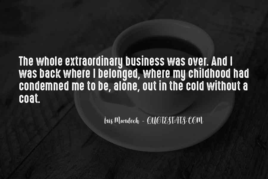 In My Business Quotes #106011