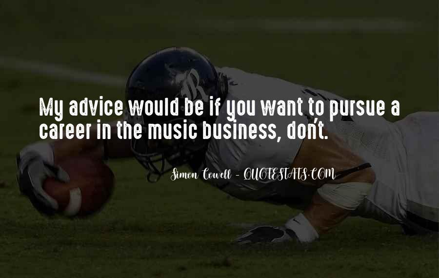 In My Business Quotes #108665