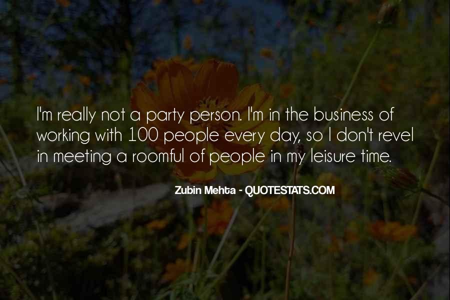 In My Business Quotes #114895