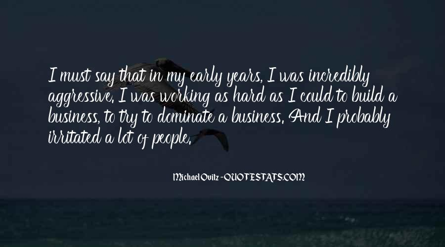 In My Business Quotes #116037