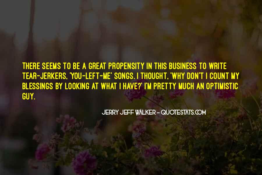 In My Business Quotes #125390