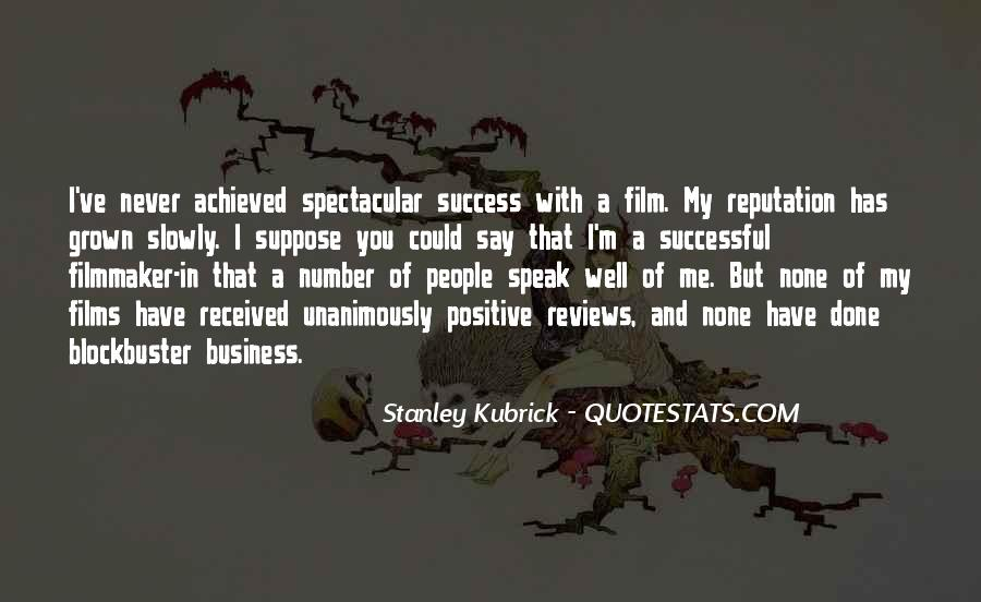 In My Business Quotes #13329