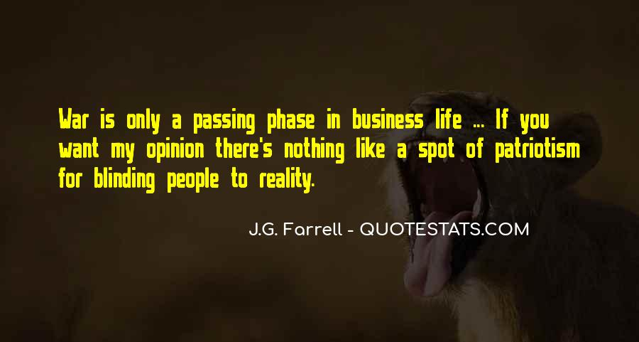 In My Business Quotes #16576