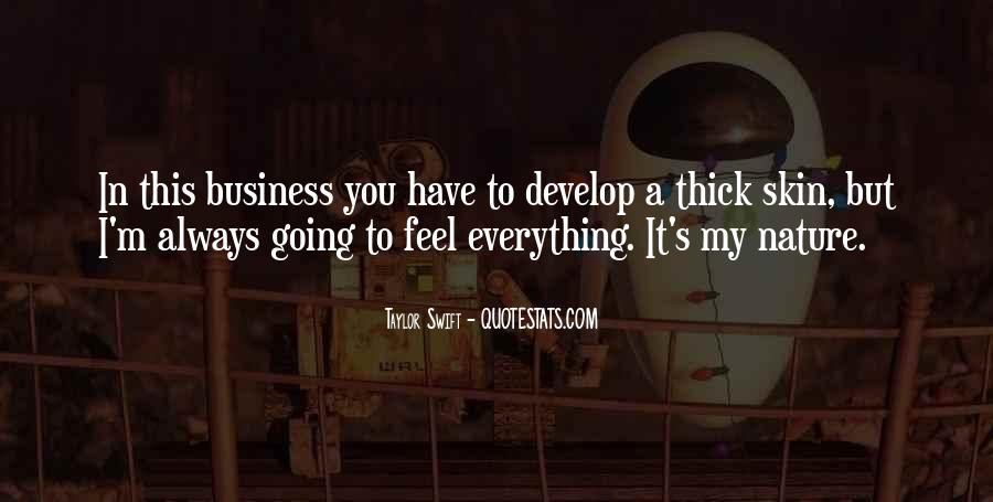 In My Business Quotes #16587