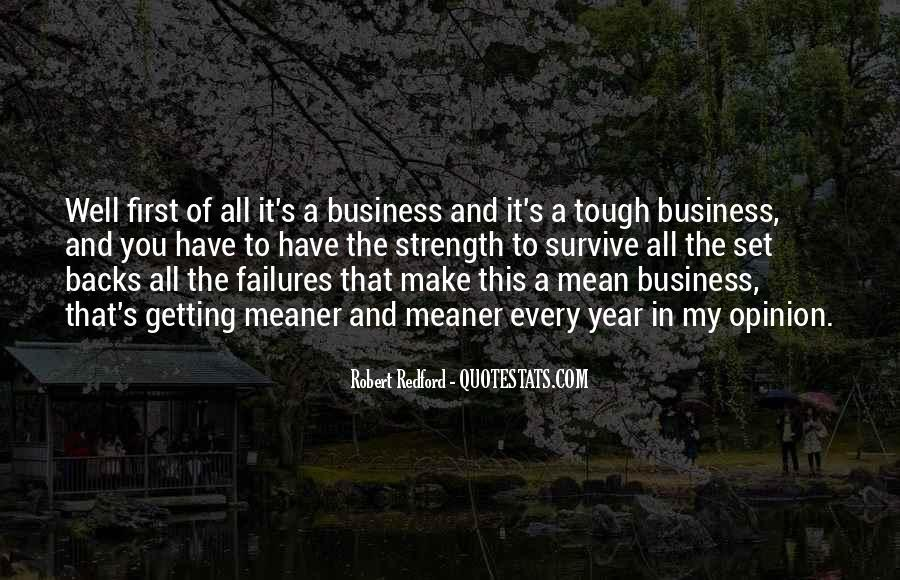 In My Business Quotes #36381
