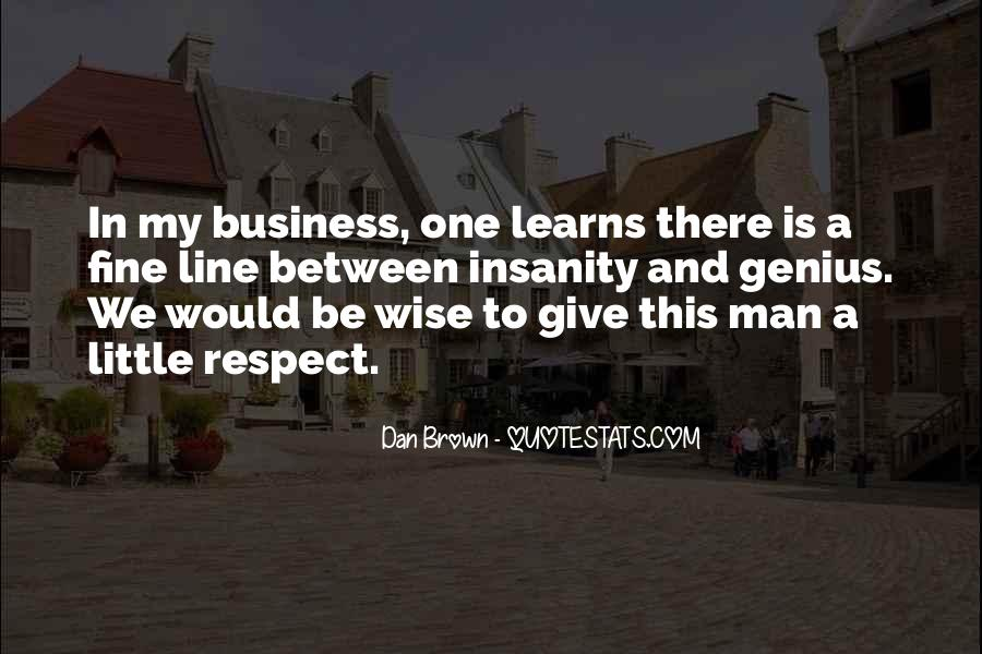 In My Business Quotes #53749