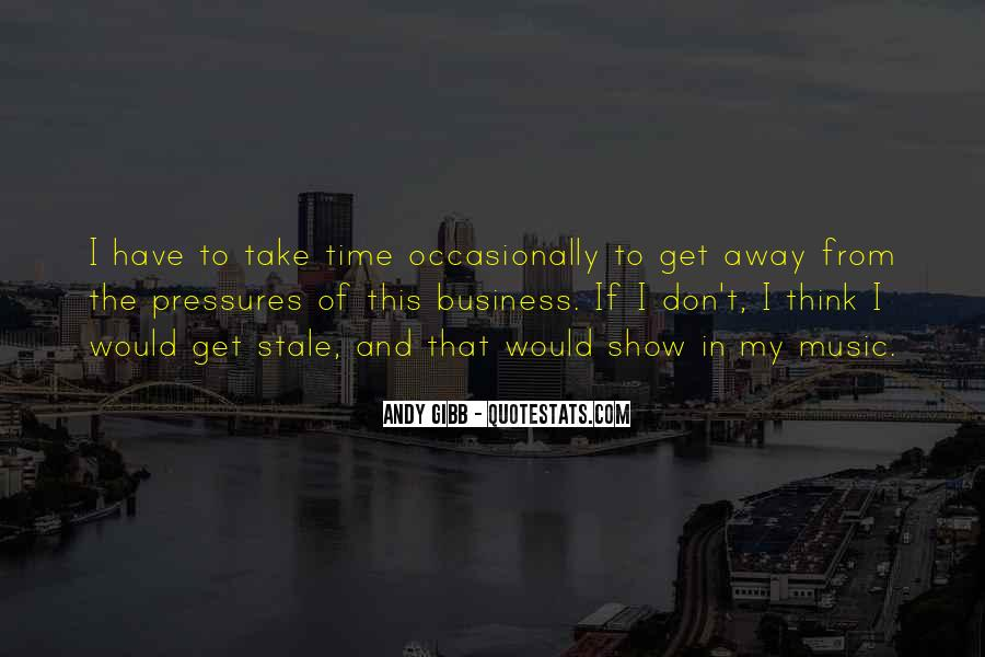 In My Business Quotes #67142