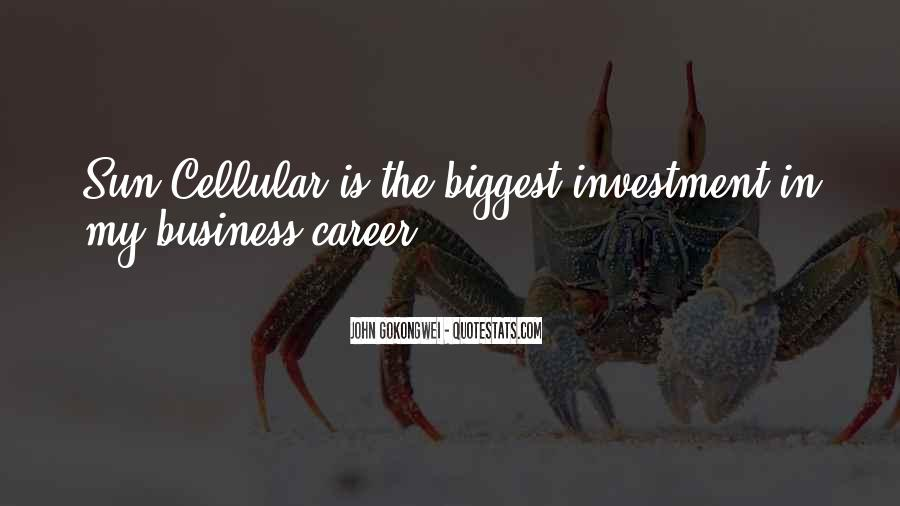 In My Business Quotes #95927
