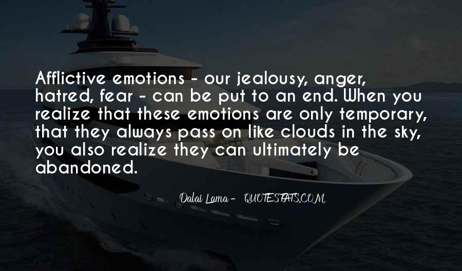 In The End You Realize Quotes #1280027
