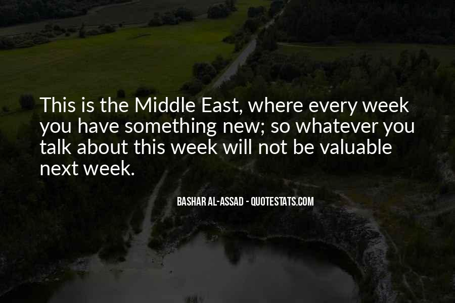 In The Middle Of The Week Quotes #1302321