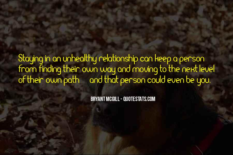 In The Relationship Quotes #31912