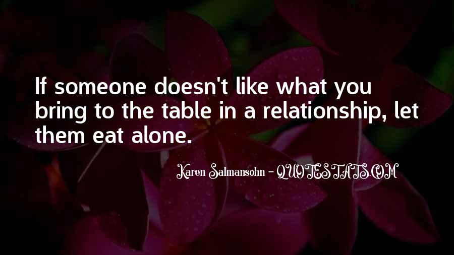 In The Relationship Quotes #74001