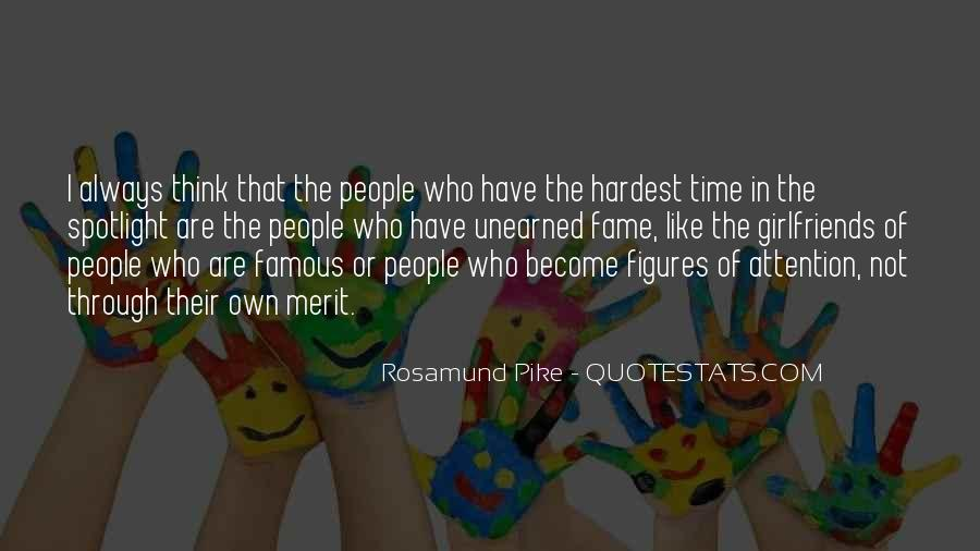 In Time Famous Quotes #1805587