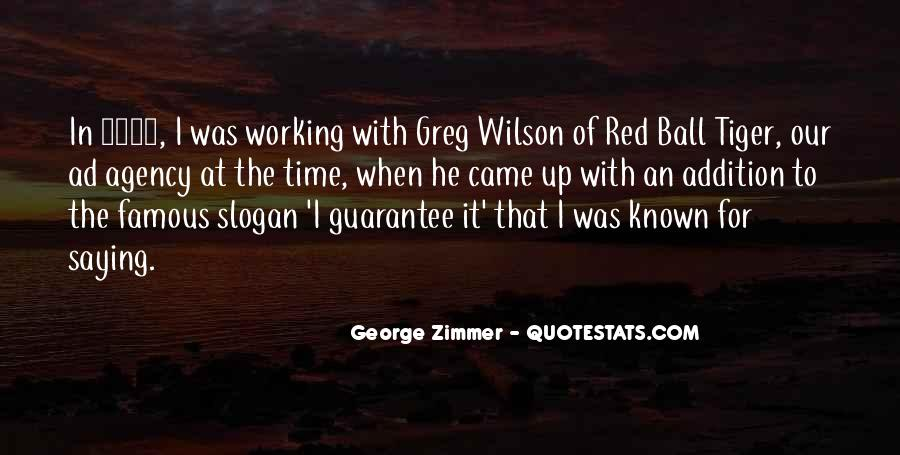 In Time Famous Quotes #593181