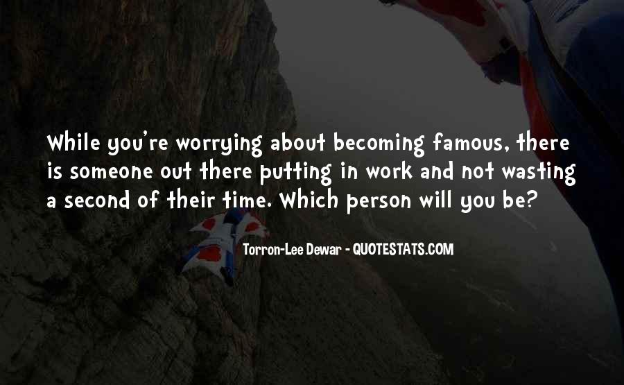 In Time Famous Quotes #82891