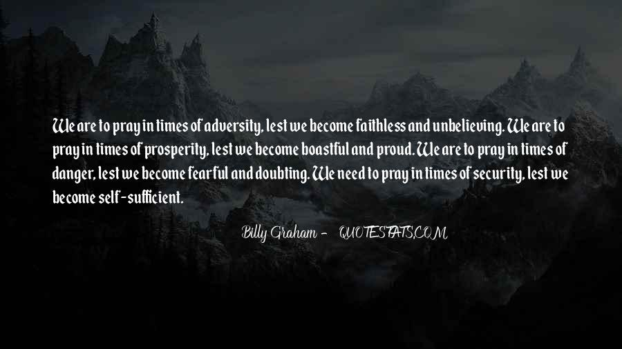 In Times Of Adversity Quotes #1225144