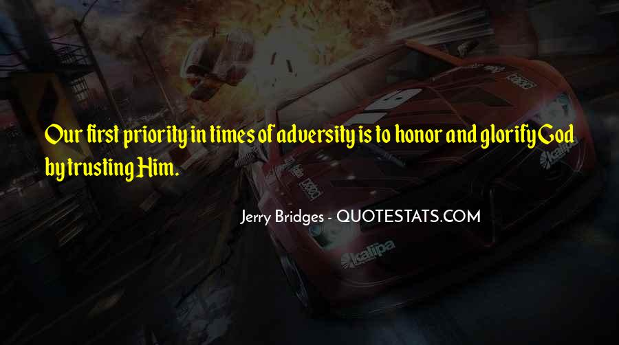 In Times Of Adversity Quotes #1289377