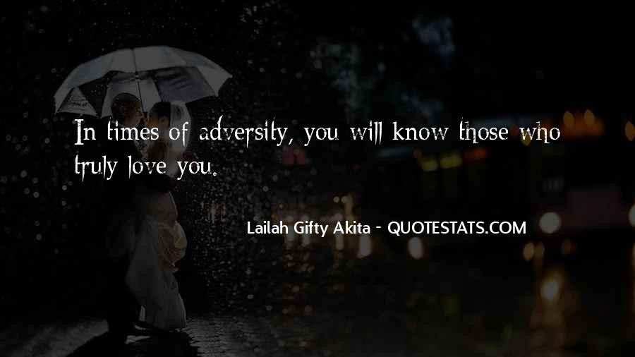 In Times Of Adversity Quotes #1310054