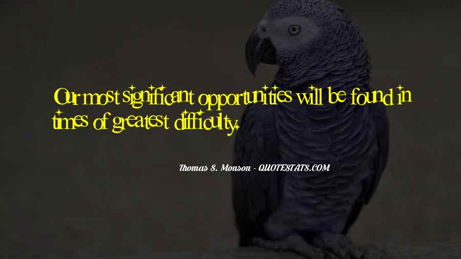 In Times Of Adversity Quotes #1534973