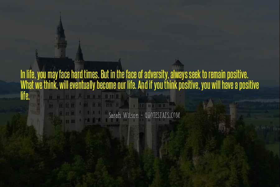 In Times Of Adversity Quotes #34901