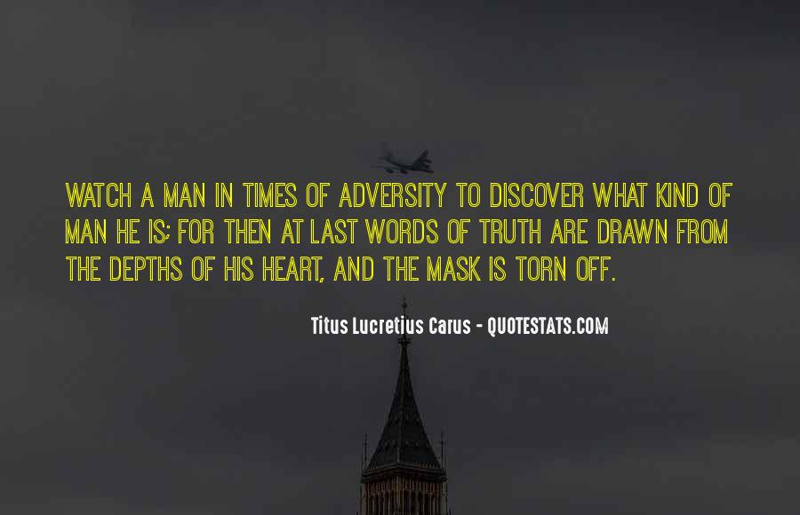 In Times Of Adversity Quotes #444419