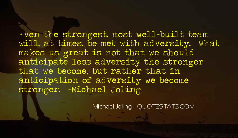 In Times Of Adversity Quotes #491403
