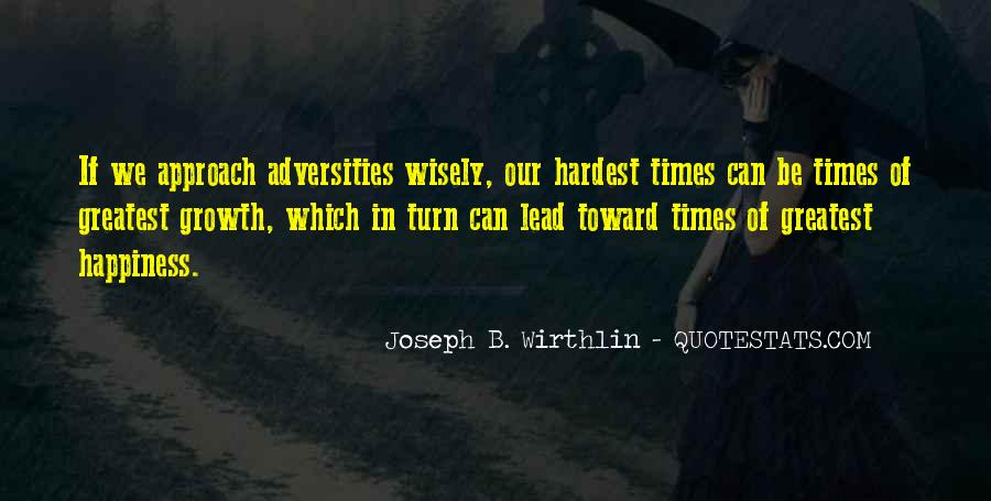 In Times Of Adversity Quotes #680229