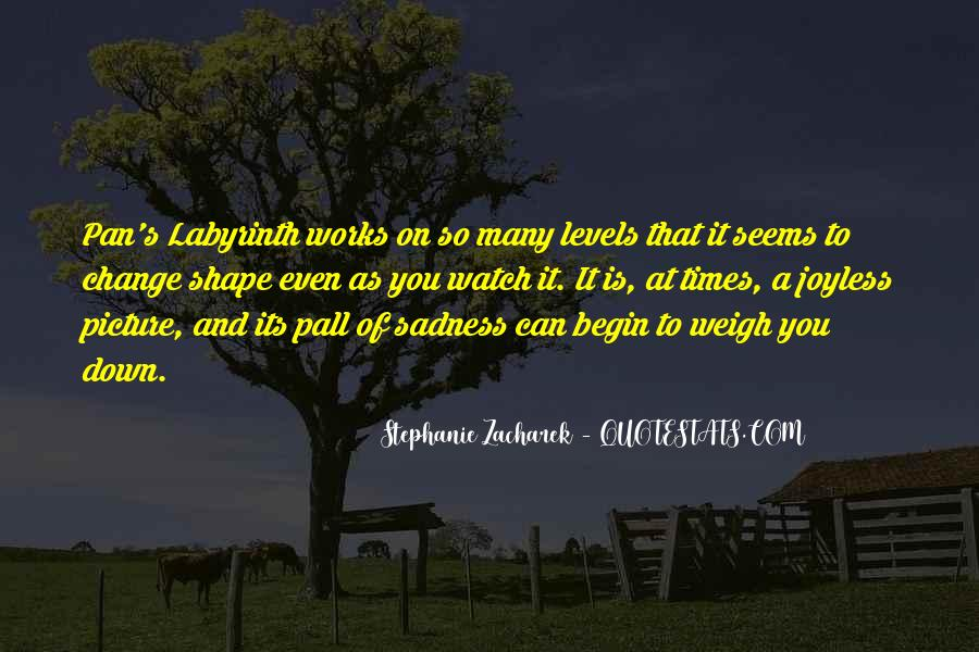 In Times Of Sadness Quotes #1231599