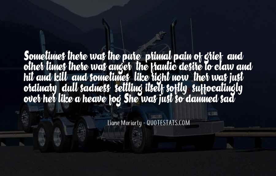 In Times Of Sadness Quotes #1481328