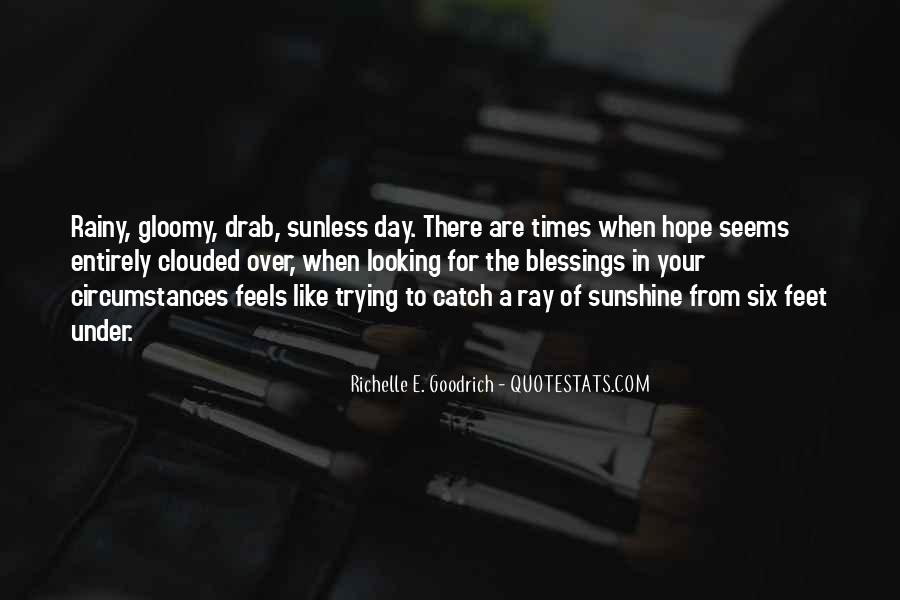 In Times Of Sadness Quotes #1587272