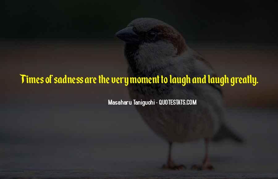 In Times Of Sadness Quotes #1652895