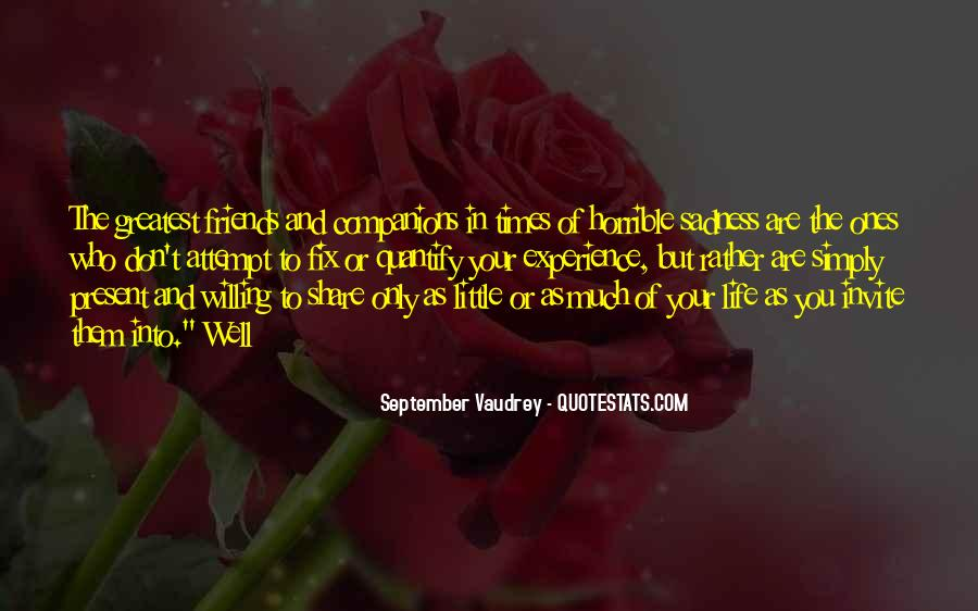 In Times Of Sadness Quotes #400399
