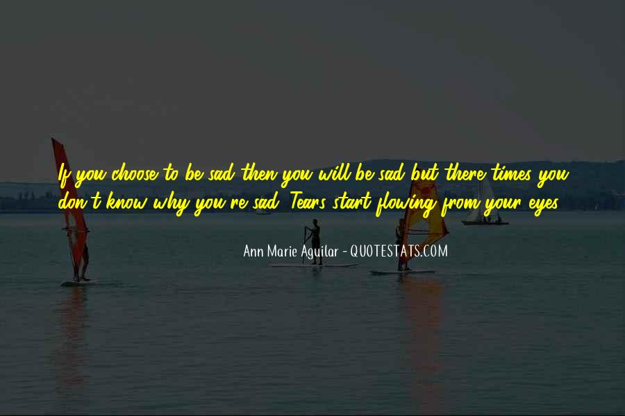 In Times Of Sadness Quotes #965553