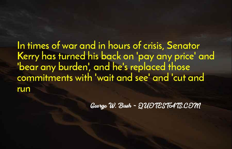 In Times Of War Quotes #1191472