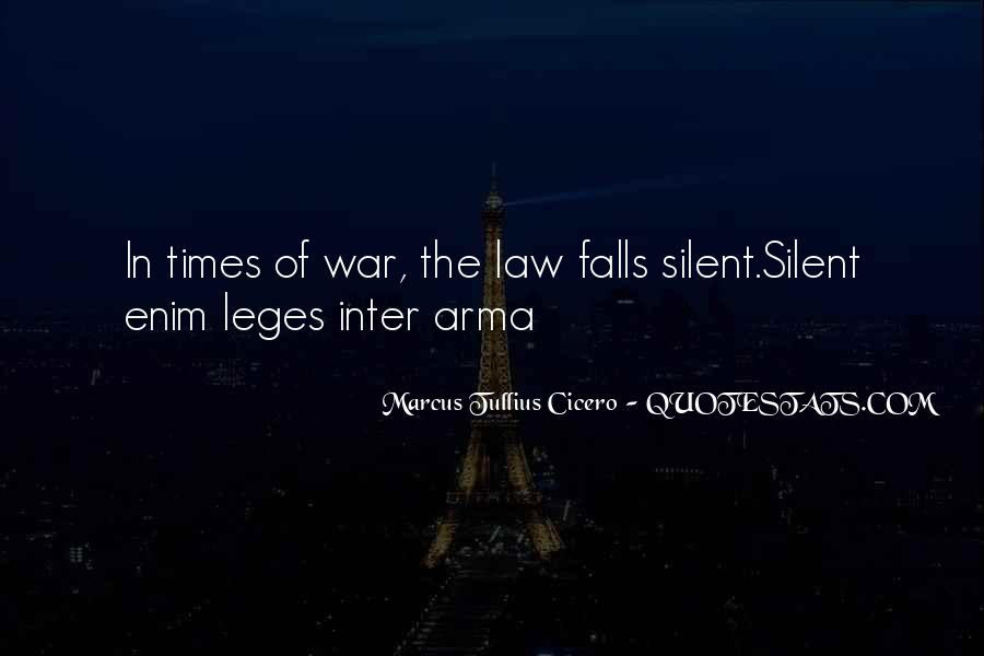 In Times Of War Quotes #1267137