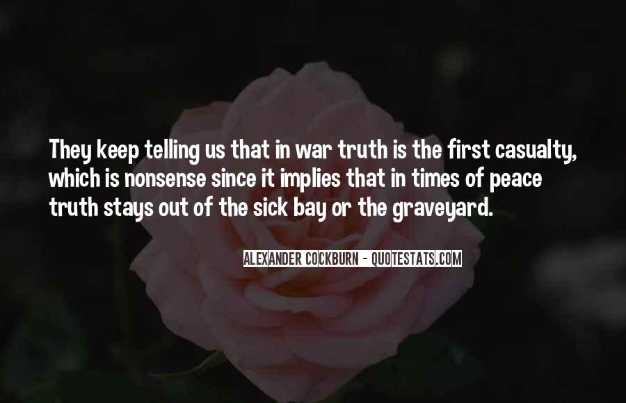 In Times Of War Quotes #999031