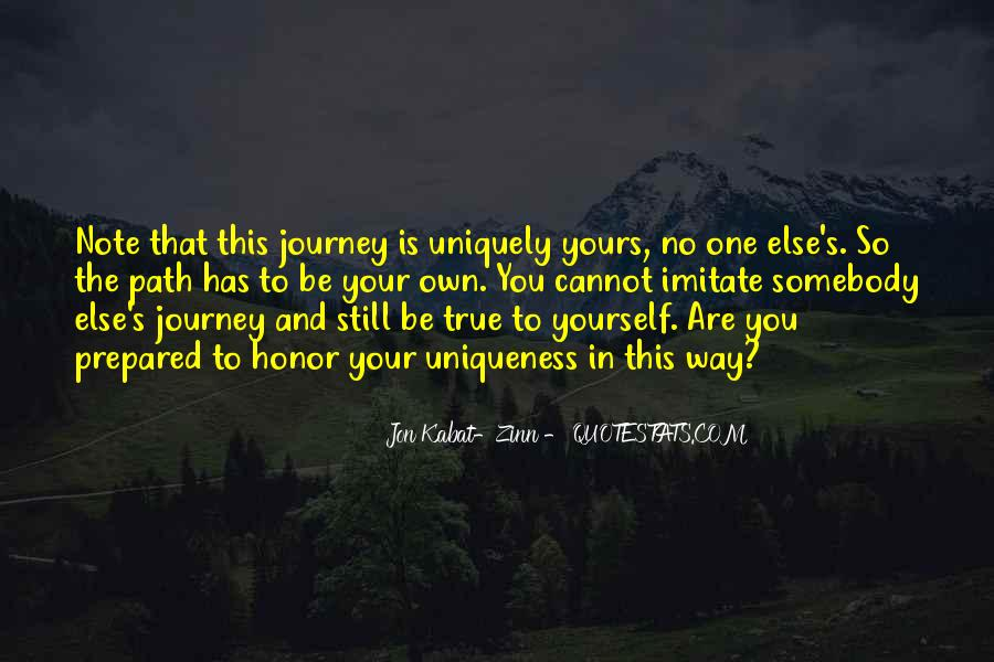 In Your Own Way Quotes #109223