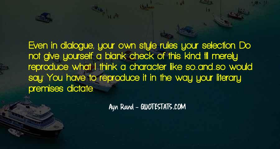 In Your Own Way Quotes #342553
