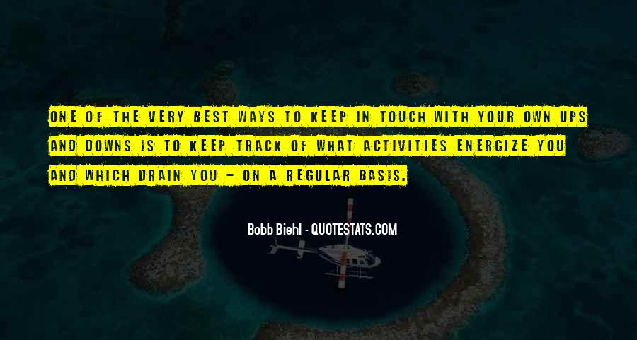 In Your Own Way Quotes #344057