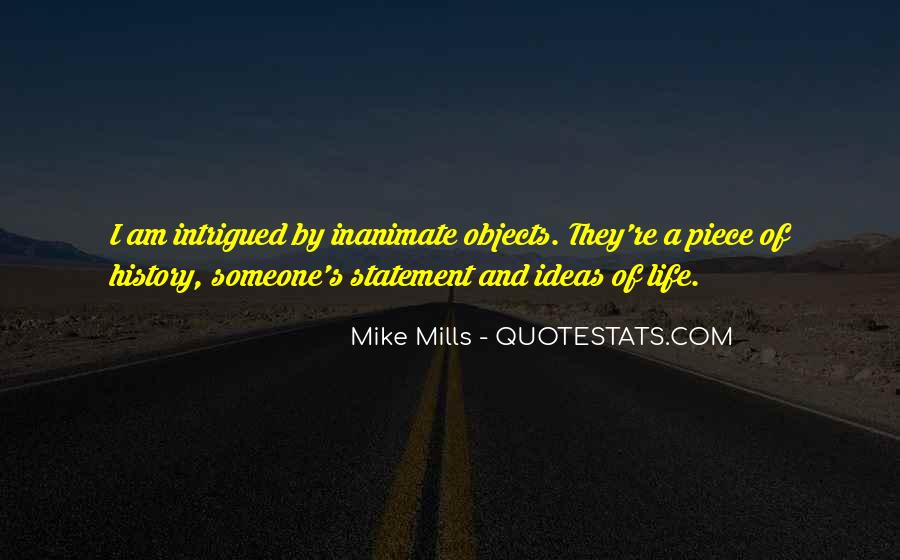 Inanimate Quotes #99075
