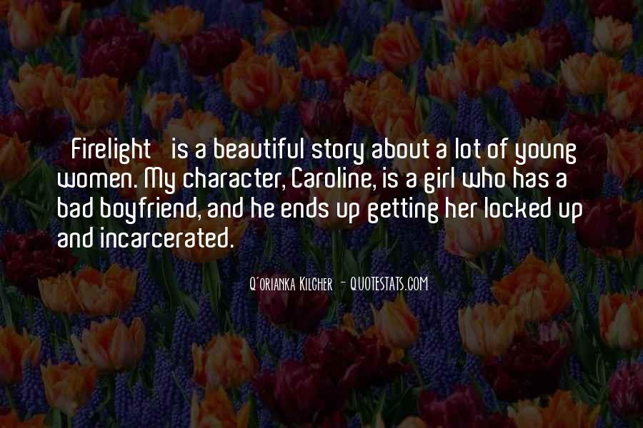 Incarcerated Boyfriend Quotes #8097