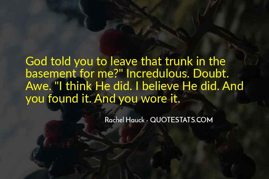 Incredulous Quotes #981744