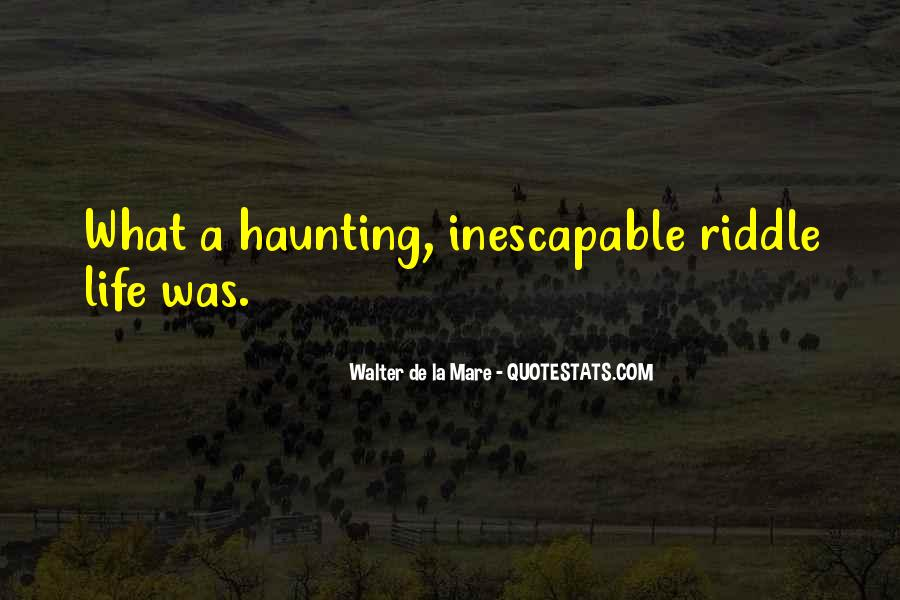 Inescapable Quotes #639018