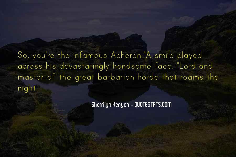 Infamous Sherrilyn Kenyon Quotes #921449
