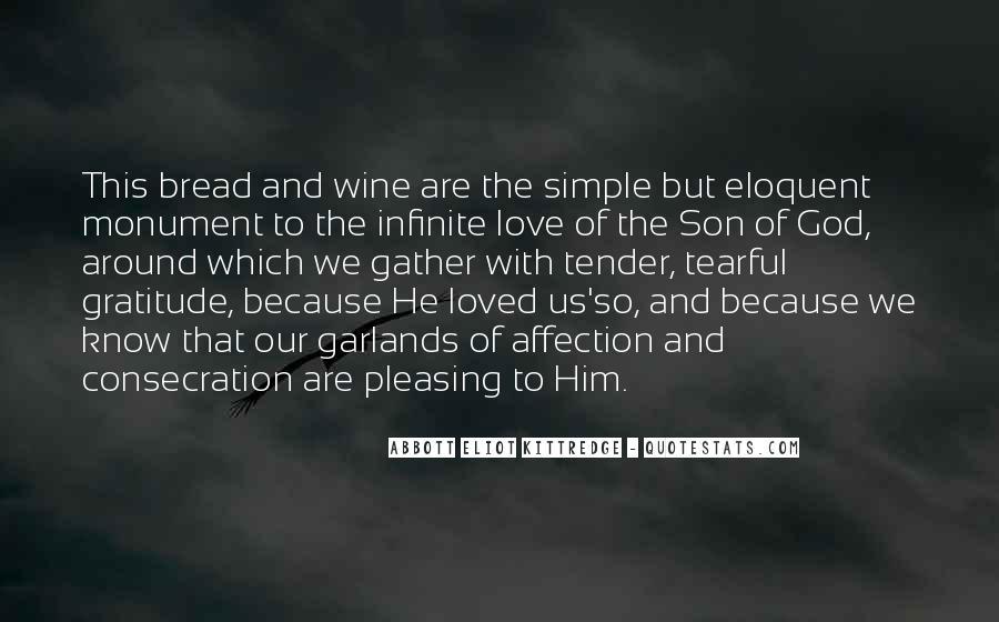 Infinite Love Gratitude Quotes #1581125