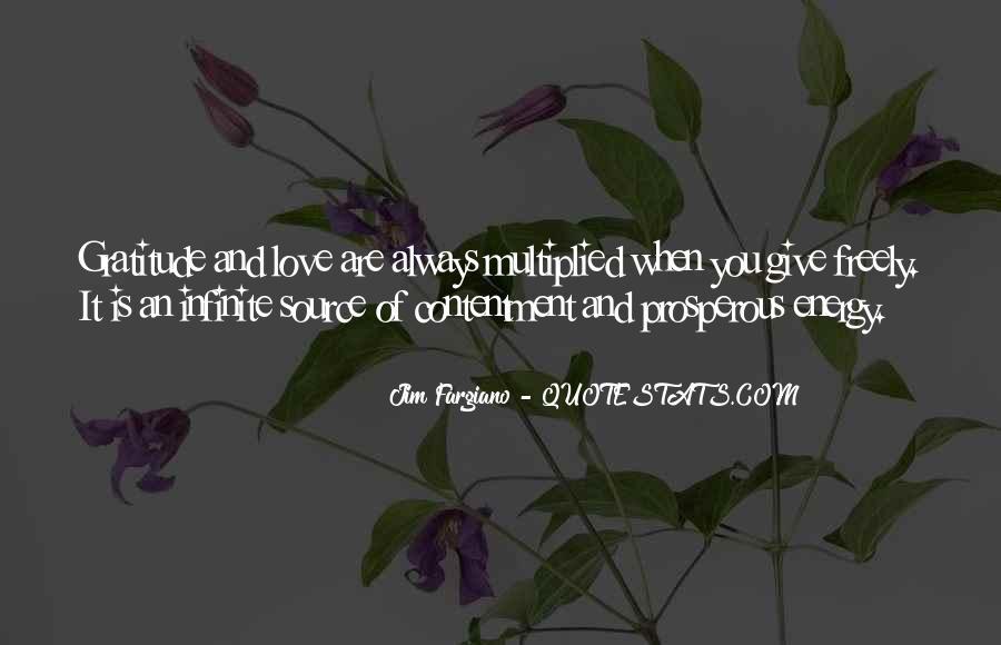 Infinite Love Gratitude Quotes #266299