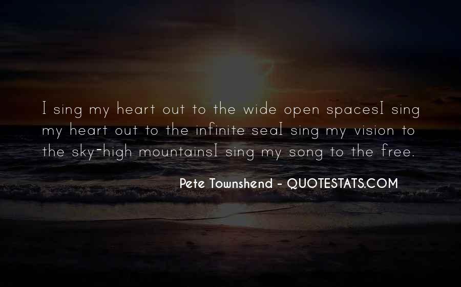 Infinite Sea Quotes #1019135