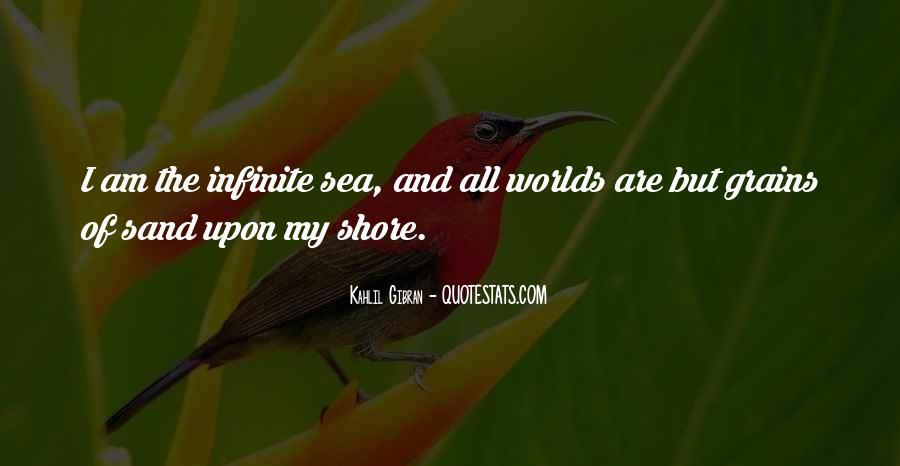 Infinite Sea Quotes #149069